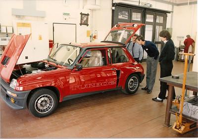 Renault R5 Turbo at Porsche Develpment Center Weissach