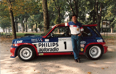 Jean Ragnotti Paris with R5 Turbo Maxi