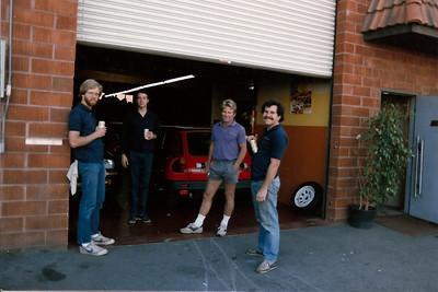 Dan, Gilles, Len, Mark