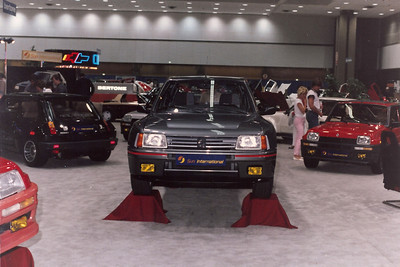 Peugeot 205 Turbo 16 at LA Auto Expo.