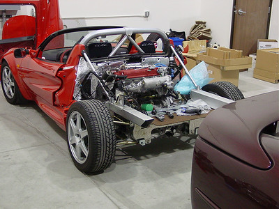 Elise Sport 190 converted to Honda B18