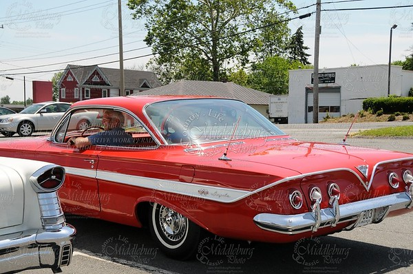 Jerry and his 1961 Chevrolet Impala.