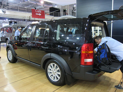 New release Land Rover Discovery which looks a bit too much like a hearse IMHO,