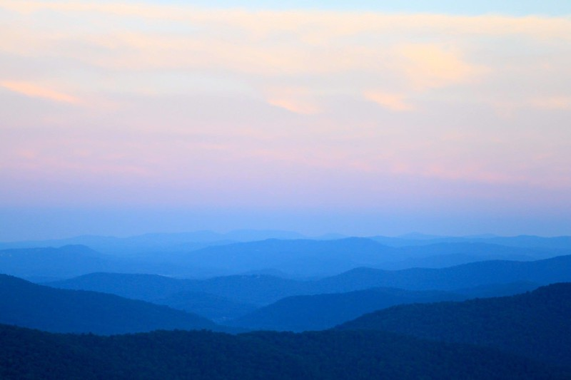 The Great Smoky Mountains..