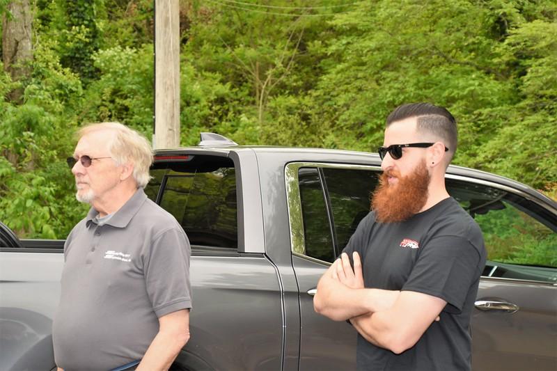 Ken & Artin, hard core racers.