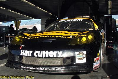 Banner Racing Corvette