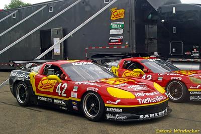 Team Sahlen Corvette