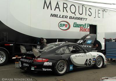 MILLER BARRETT RACING PORSCHE GT3 CUP