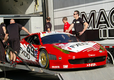 AIM AUTOSPORT TEAM FXDD RACING FERRARI 458