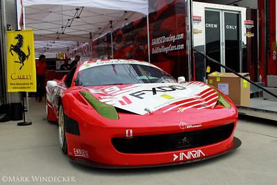 AIM Autosport Team FXDD Racing Ferrari 458 Grand-Am