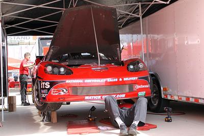 Michael Baughman Racing Corvette
