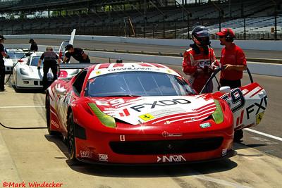 AIM Autosport Team FXDD with Ferrari