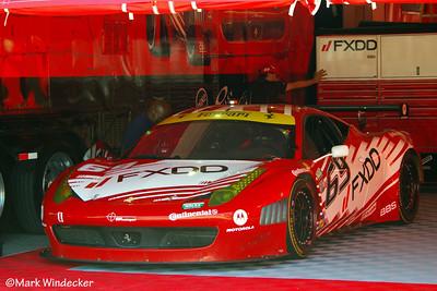 AIM Autosport Team FXDD Ferrari 458 Italia Grand-Am