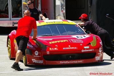 R.Ferri/ Aim Motorsport Racing Ferrari 458 Italia Grand-Am