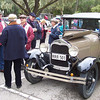 Murray I'Anson's 1928 Phaeton at coffee time