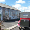 A stop to  view the murals at Sheffield
