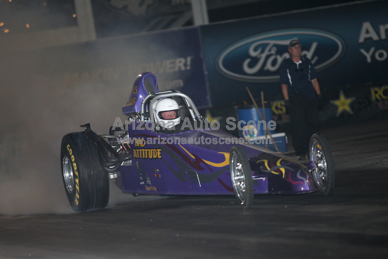 Team Firebird Final 2012 Points Race and the NHRA National Dragster Challenge