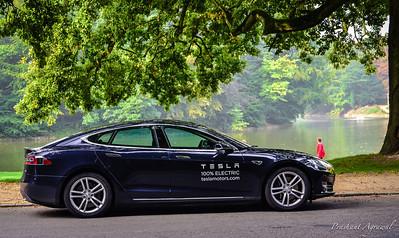Tesla Model S Test Drive in Brussels