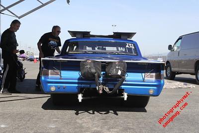Test N Tune 5 05 2018  Pit Shots Autoclub Speedway Fontana Ca.