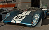 1969 Lola T70 MKIIIB of Hobart Buppert from Sparks, MD represents the final evolution of this spectaculary beautiful, but not always successful Broadley/Southgate design.<br /> <br /> The T70 won its first international race at Daytona in February, 1969.<br /> <br /> A month later the 917 Porsche was introduced and the rest as they say is history. The next year Ferrari rolled out the 512.<br /> <br /> But that fuel-injected, 5.9-liter small-block Chevy really wails.<br /> <br /> SVRA Sebring Vintage Classic, March 3-5, 2017
