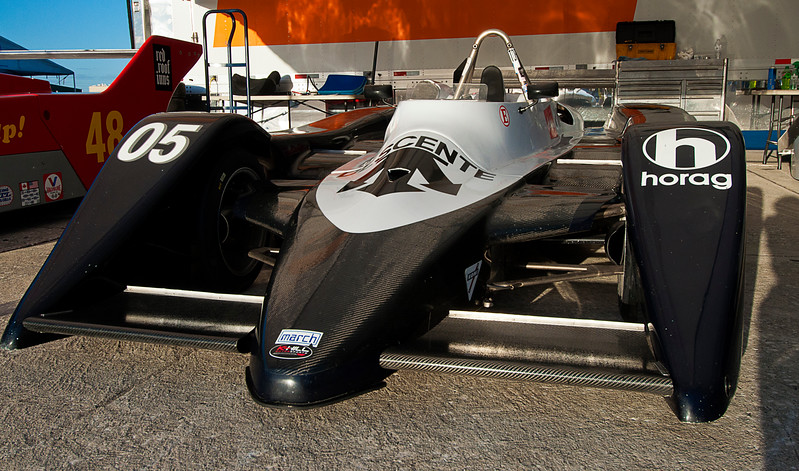 This is obviously a March and if the HORAG is correct, it is likely one of the 25 802-series built with BMW 2-liter power that was raced by [Marcus] Hotz Racing AG (HORAG) in the early 80s.<br /> <br /> SVRA Sebring Vintage Classic, March 3-5, 2017