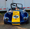 1965 Ginetta G4 powered by a 195 hp 1.7 liter Ford Kent Crossflow.<br /> <br /> Tubular steel space frame chassis # 4/0189; bonded fiberglass tub with removable nose and tail<br /> <br /> Recently listed for sale at $62,500.<br /> <br /> I liked the light and the condensation drops.<br /> <br /> And, although it looks like a Miata and sounds like it's Italian, they were built by four brothers named Bob, Ivor, Trevers and Douglas Walklett in  Woodbridge, Suffolk.<br /> <br /> SVRA Sebring Vintage Classic, March 3-5, 2017
