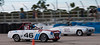 This is a sad picture; the Datsun is passing the 190 SL.<br /> <br /> SVRA Sebring Vintage Classic, March 3-5, 2017