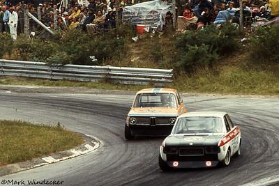 #155-George Comacchio Fiat 124S #190-Werner Gudzus
