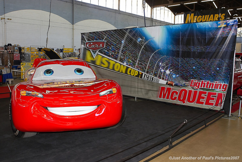 Lightning McQueen, at the O'Reilly Autorama 18 February 2007