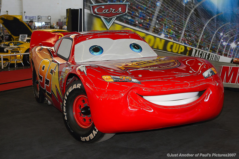 Lightning McQueen, at the O'Reilly Autorama 18 February 2007