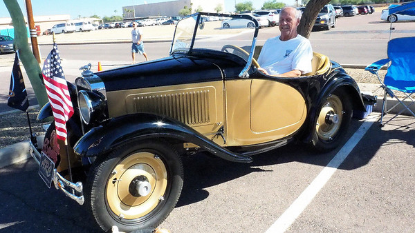 The 2018 Tune Up For Health Car Show from Luke Air Force Base