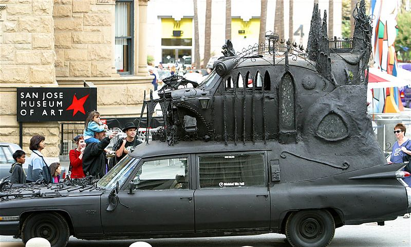 Cathedral car