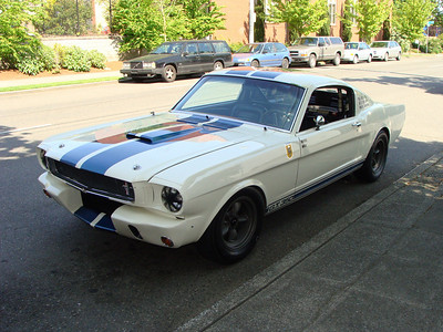 The First 1965 GT350 Mustang
