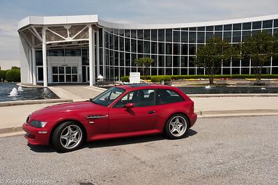 2000 BMW M Coupe returns home: BMW Zentrum, Spartanburg, SC, 2009