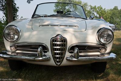 1965 Alfa Romeo Giulia Spider Veloce Keeneland Concours, 2008