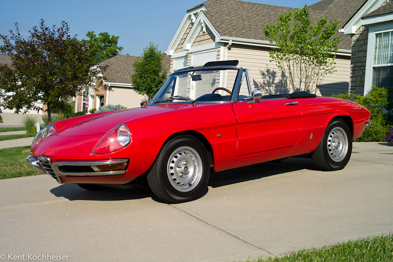 1967 Alfa Romeo Duetto Spider<br /> Ohio, 2011