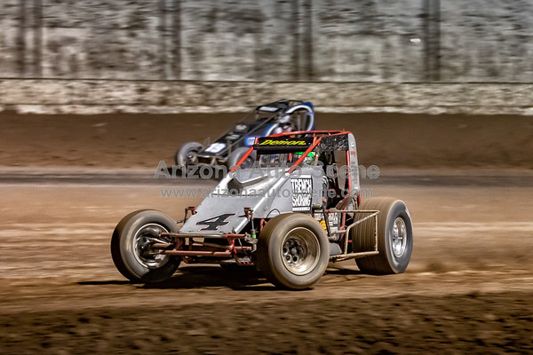 The Hall of Fame Classic Sprint Car Race from Arizona Speedway