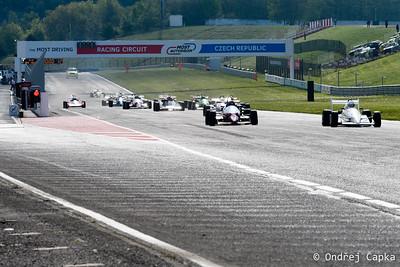 The Most Historic GP 2017 - sobotní závody