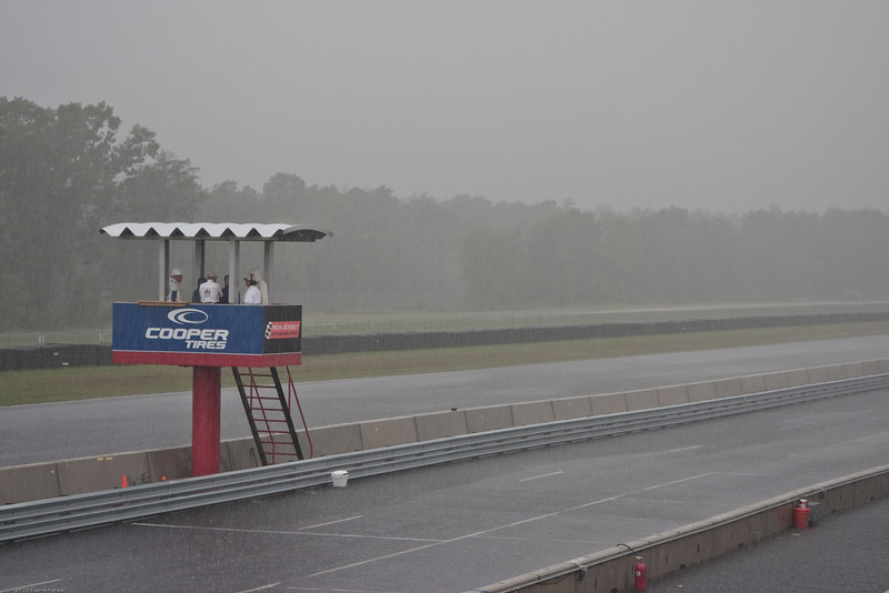 Saturday morning -- doesn't look good for qualifying