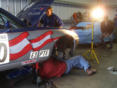 TEAMWORK -- New clutch goes in, with Justin Hammond of Loomis on top and Al Angulo of Citrus Heights working below