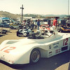 "‎Howard Macken' 1981 Tiga at Laguna Seca,  ""The last race on the old course, Oct 5, 1988, getting read to Qualify, a 1:18, my 1st year of racing."""