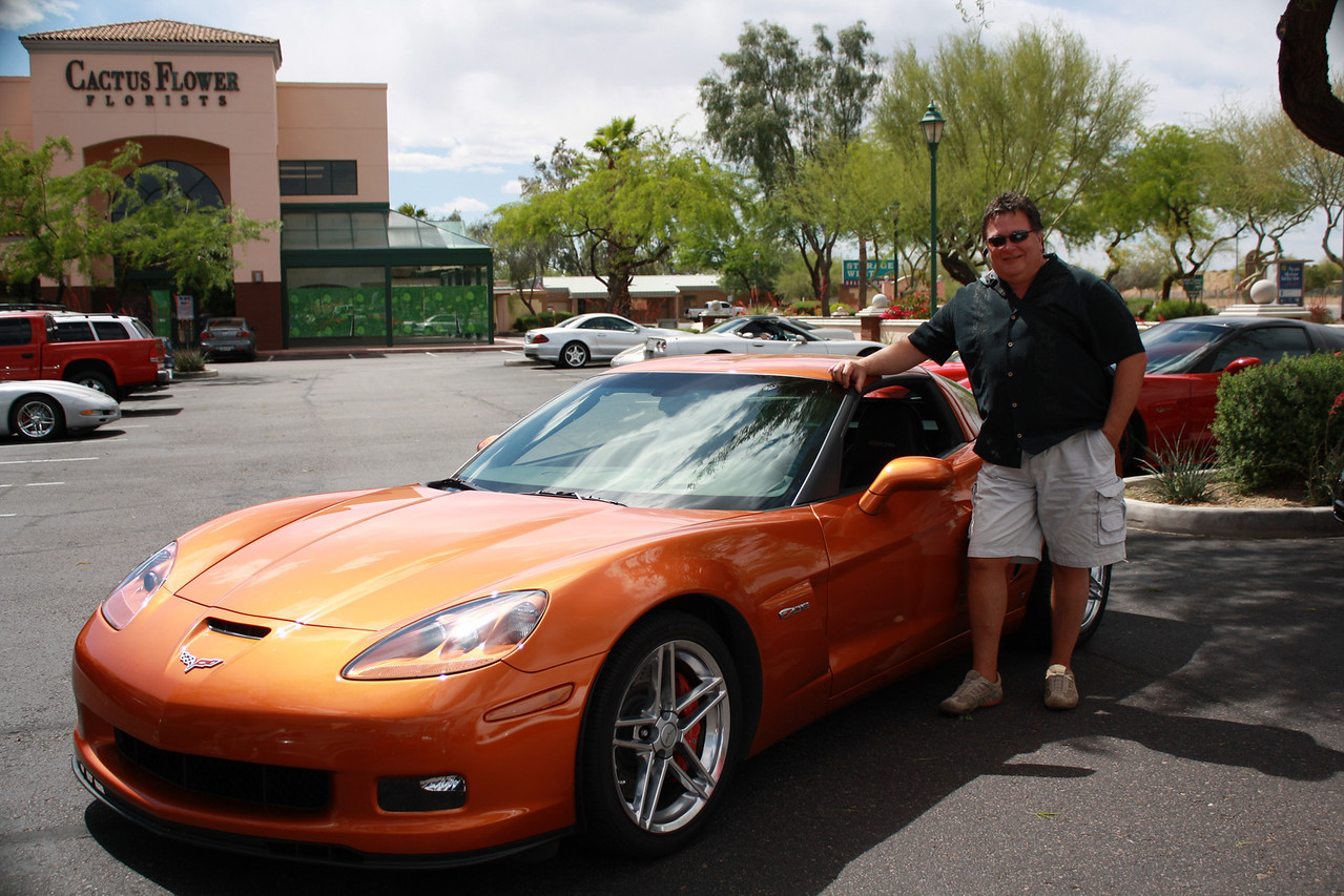 8) Jim Pawlyshyn's 2007 Canadian Atomic Orange Z06. First year they brought back this color and this was the only one for that year ordered into Canada.