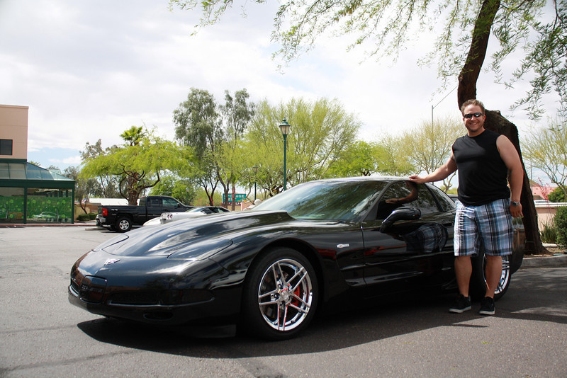 9)Mike Steg's 2003 Z06. 525 rwhp 'nuff said.