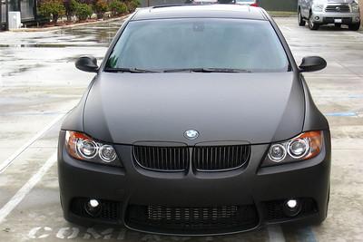BMW 335i Matte Black