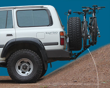 Landcruiser bicycle carriers