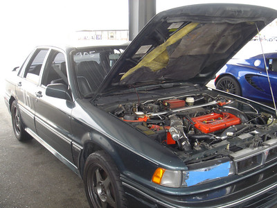 Under the hood of Lukito's monster Galant VR-4 aka POS Galant