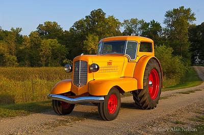 1938 Minneapolis-Moline UDLX Tractor
