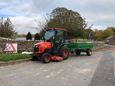 Kubota STW37 Tractor
