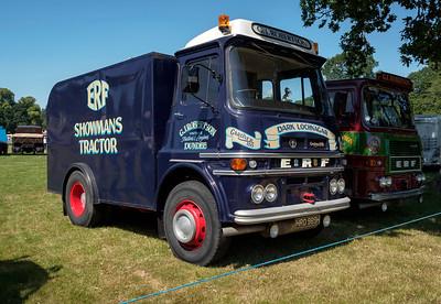 1969 ERF Showman's Tractor