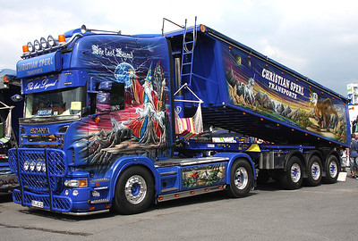 Trucker-Festival Geiselwind Pfingsten 2013 The Last Legend Scania - Christian Sperl Transporte